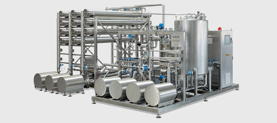 What are the two types of ultrafiltration systems?